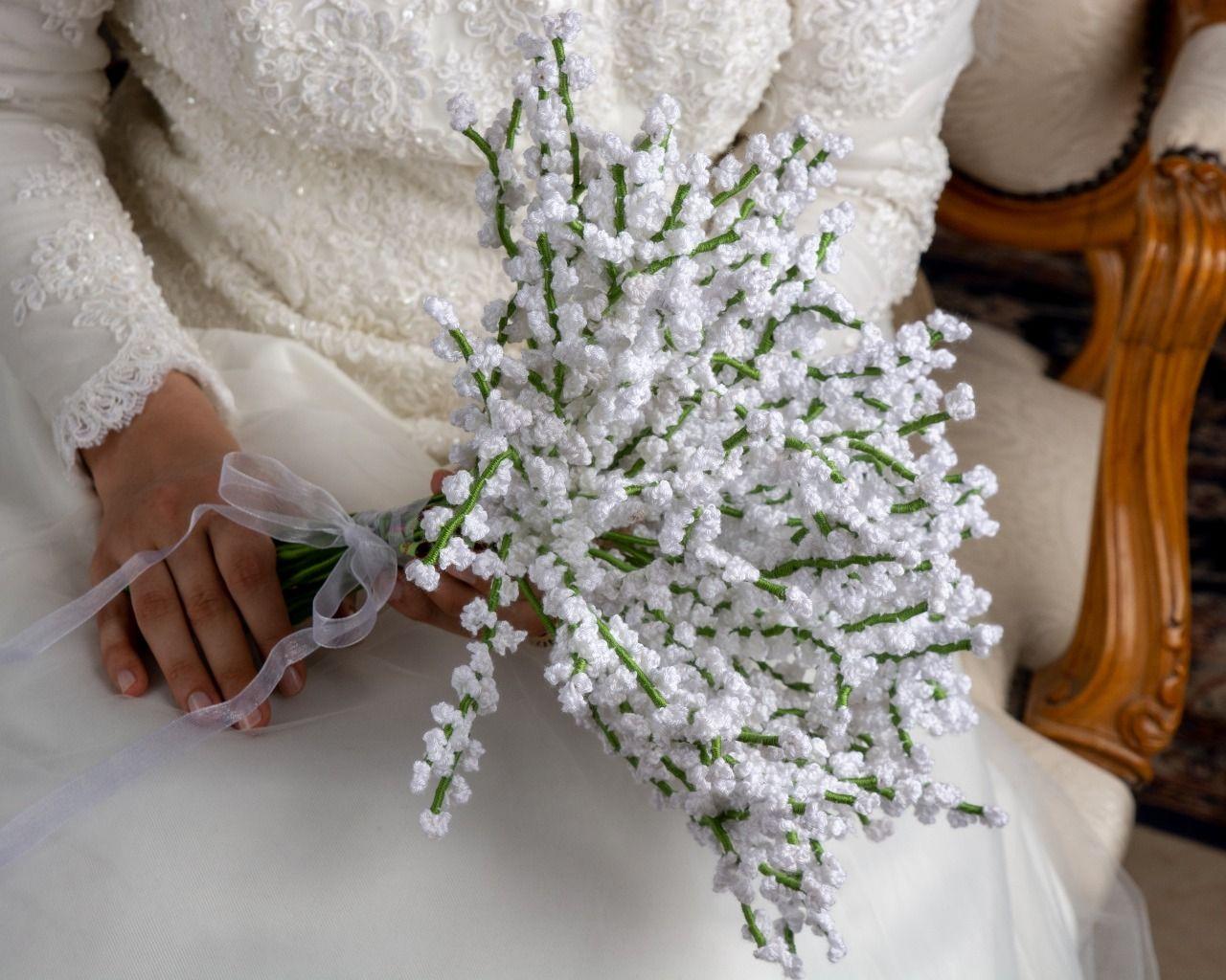 Gypsophilas Bridal Bouquet