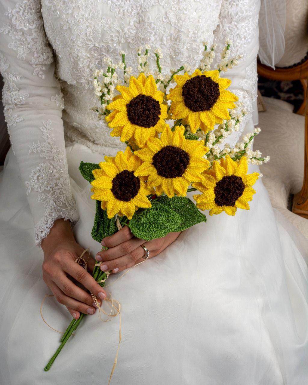 Sunflowers & Gypsophilas